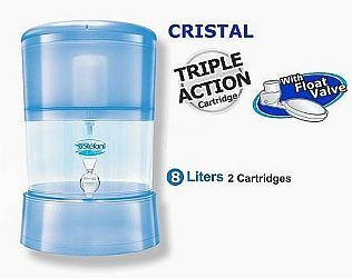 Stéfani CRISTAL 8L mit 2 Keramikfilter-Elementen