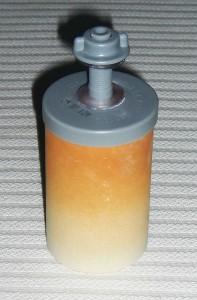 Stéfani Keramikfilter Element 10Tage in Gebrauch mit Wasser aus alter Hauswasserleitung