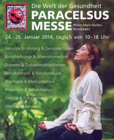 Paracelsus Gesundheitsmesse 2014 in Wiesbaden